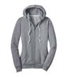 DT290 - Ladies' Fleece Full Zip Hoodie