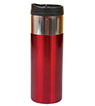 BLK-ICO-229 - 14 Oz. Chrome Band Tumbler