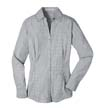 L639 - Ladies' Plaid Pattern Easy Care Shirt