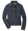 L7620 - Ladies' Denim Jacket